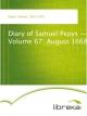 Diary of Samuel Pepys - Volume 67: August 1668 - Samuel Pepys