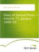 Diary of Samuel Pepys - Volume 71: January 1668-69 - Samuel Pepys