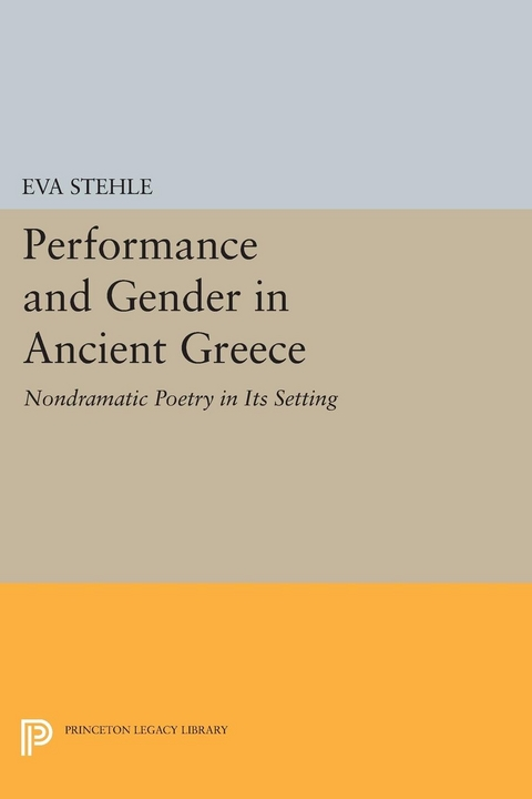 Lese Stehle ebook performance and gender in ancient greece stehle