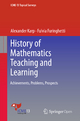 History of Mathematics Teaching and Learning