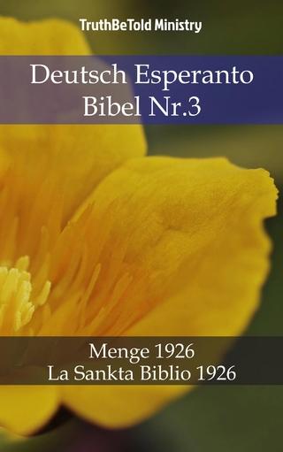 Deutsch Esperanto Bibel Nr.3 - Truthbetold Ministry