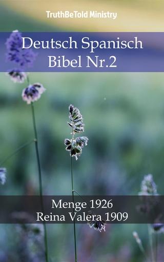 Deutsch Spanisch Bibel Nr.2 - Truthbetold Ministry