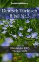 Deutsch Turkisch Bibel Nr.3 - TruthBeTold Ministry