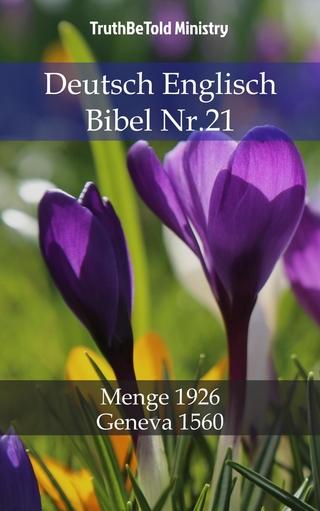 Deutsch Englisch Bibel Nr.21 - Truthbetold Ministry