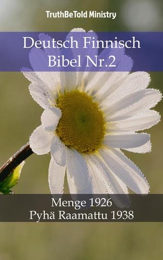 Deutsch Finnisch Bibel Nr.2 - Truthbetold Ministry