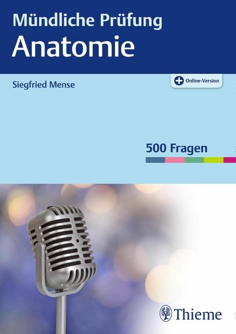 eBook: Mündliche Prüfung Anatomie von Siegfried Mense   ISBN 978-3 ...