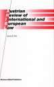 Austrian Review of International and European Law, Volume 9 (2004) - Gerhard Loibl