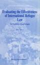 Evaluating the Effectiveness of International Refugee Law - M. R. Alborzi