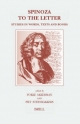 Spinoza to the Letter - F. Akkerman; Piet Steenbakkers