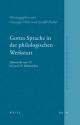 Gottes Sprache in der philologischen Werkstatt - Giuseppe Veltri; Gerold Necker