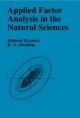 Applied Factor Analysis in the Natural Sciences - Richard A. Reyment; K. G. Jvreskog