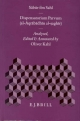 Dispensatorium Parvum (al-Aqrabadhin al-saghir) - Sabur Ibn-Sahl; Oliver Kahl