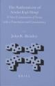The Authenticity of Sendai Kuji Hongi - John R. Bentley