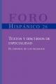 Textos y discursos de especialidad - Andreu P. J. V. van Hooft