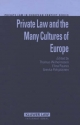 Private Law and Cultures of Europe - Thomas Wilhelmsson