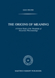 The Origins of Meaning - D. Welton