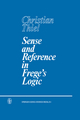 Sense and Reference in Frege's Logic - C. Thiel