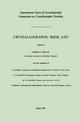 Crystallographic Book List - Helen D. Megaw