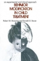 Behavior Modification in Child Treatment