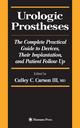 Urologic Prostheses