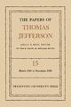 The Papers of Thomas Jefferson, Volume 15 - Julian P. Boyd; Thomas Jefferson