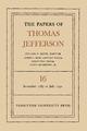 The Papers of Thomas Jefferson, Volume 16 - Thomas Jefferson; Julian P. Boyd