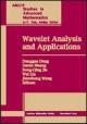 Wavelet Analysis and Applications - Donggao Deng; Daren Huang; Rong-Qing Jia; Wei Lin; Jianzhong Wang