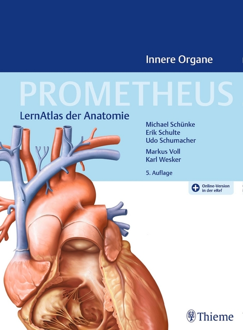 eBook: PROMETHEUS Innere Organe von Michael Schünke | ISBN 978-3-13 ...