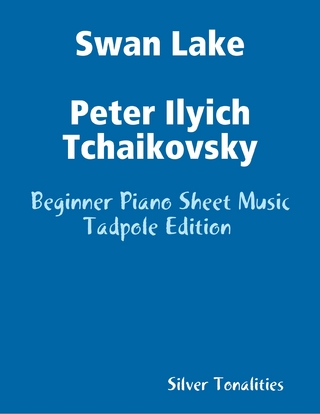 Swan Lake Peter Ilyich Tchaikovsky - Beginner Piano Sheet Music Tadpole Edition - Silver Tonalities