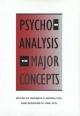 Psychoanalysis - Burness E. Moore; Bernard D. Fine