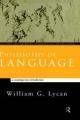 Philosophy of Language - William G. Lycan