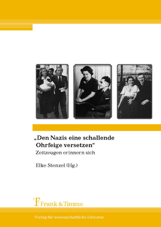 'Den Nazis eine schallende Ohrfeige versetzen' - Elke Stenzel