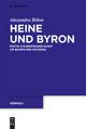 Heine und Byron - Alexandra Bohm