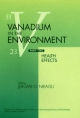 Vanadium in the Environment
