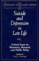 Suicide and Depression in Late Life