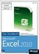 Microsoft Excel 2010 - Das Handbuch - Jürgen Schwenk;  Dieter Schiecke;  Helmut Schuster;  Eckehard Pfeifer