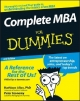 Complete MBA For Dummies - Kathleen Allen; Peter Economy