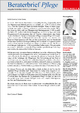 Beraterbrief Pflege Ausgabe Dezember 2018/23 - Carmen P. Baake