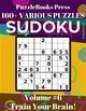 PuzzleBooks Press Sudoku – Volume - Puzzlebooks Press