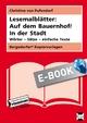 Lesemalblätter: Auf dem Bauernhof / In der Stadt - Christine von Pufendorf