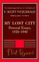 Fitzgerald: My Lost City