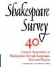 Shakespeare Survey