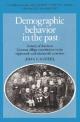 Demographic Behavior in the Past