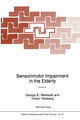 Sensorimotor Impairment in the Elderly