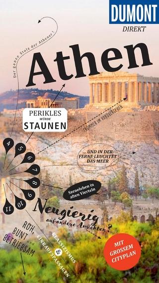 DuMont direkt Reiseführer Athen - Klaus Bötig; Elisa Hübel
