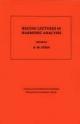 Beijing Lectures in Harmonic Analysis. (AM-112), Volume 112 - Elias M. Stein