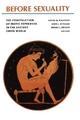 Before Sexuality - Froma I. Zeitlin; John J. Winkler; David M. Halperin