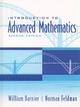 Introduction to Advanced Mathematics - William J. Barnier; Norman Feldman