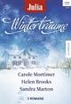 Julia Winterträume Band 14 - Carole Mortimer; Helen Brooks; Sandra Marton