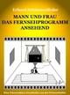 Mann und Frau das Fernsehprogramm ansehend - Erhard Schümmelfeder